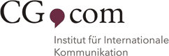 CG Com Institut für Internationale Kommunikation - Logo